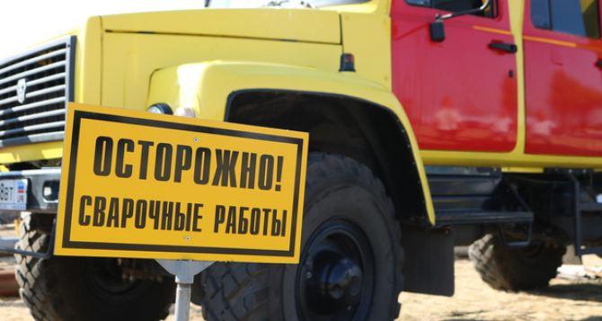Пригороду Луганска отключили газоснабжение