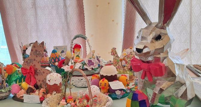 Выставка работ учащихся к «Светлому Воскресению» прошла в Луганске