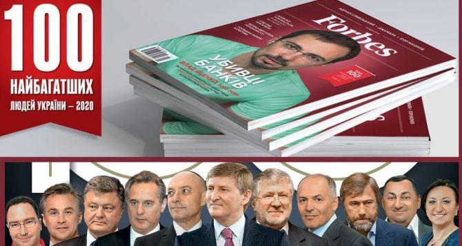 Медведчук впервые попал в список Forbes