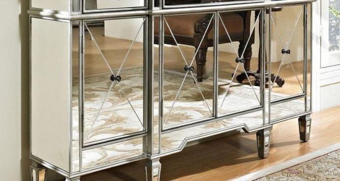 Зеркальная мебель: основные виды и особенности