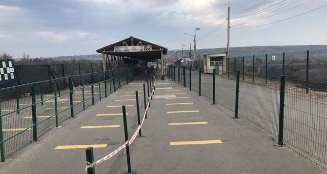 На линии разграничения вчера работал только КПВВ «Станица Луганская»