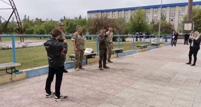 Протесты в Северодонецке