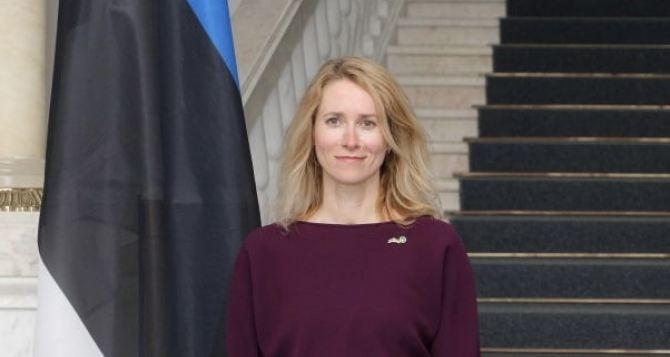 Премьер-министр Эстонии сегодня посетит Донбасс