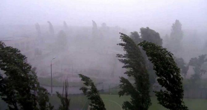 Луганские синоптики предупреждают о граде и усилении ветра сегодня вечером