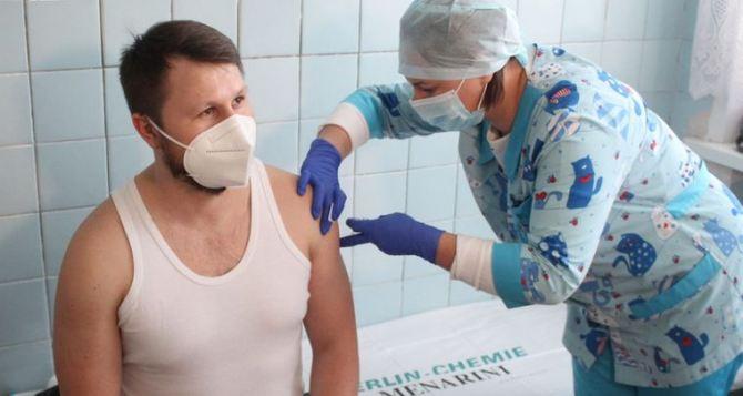 В Луганской области на линии разграничения будут размещены пункты вакцинации