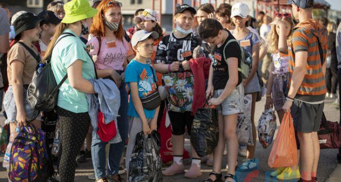 Сто детей бесплатно отправили в Крым из Луганска