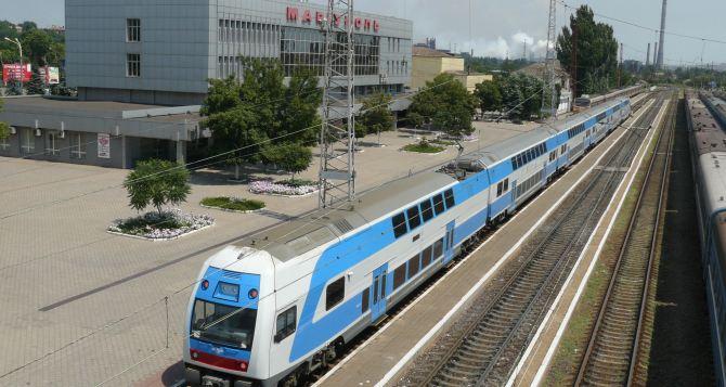 Харьковские поезда на Донбасс поменяют маршруты следования