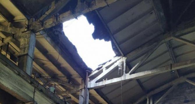 В Алчевске на меткомбинате обрушилась крыша