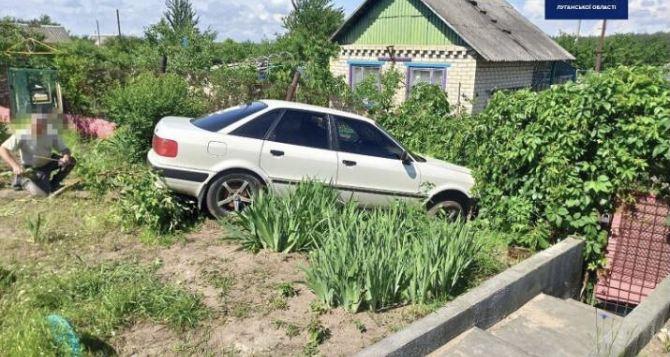 В Рубежном водитель сначала совершил ДТП, а затем заявил об угоне авто