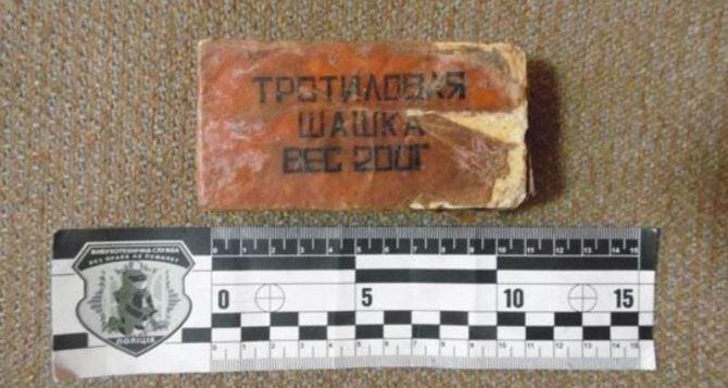У жителя Станицы Луганской нашли тротил