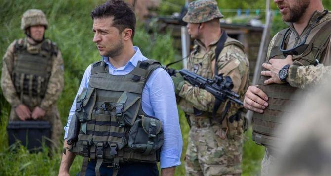 Зеленский анонсировал свою очередную поездку на Донбасс