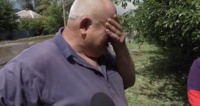 130 гектаров урожая потерял фермер из Луганщины за 30 минут