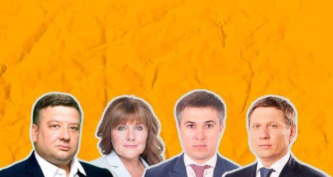 Проявляютли инициативу луганские нардепы: сколько законопроектов кто подал