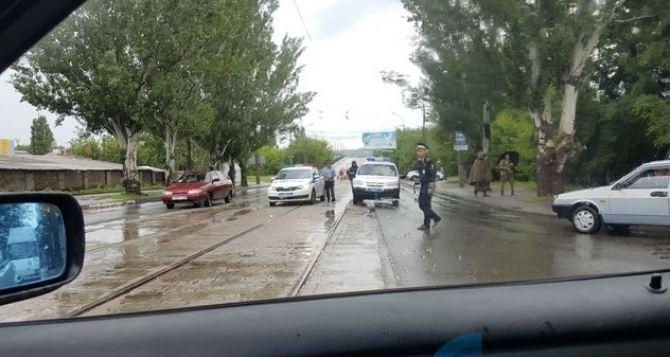 Появились ФОТО с места взрыва газопровода в Луганске