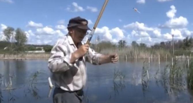 Ловят рыбу в огороде  — Луганщина оправляется от аномальных ливней