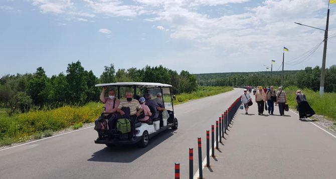 На КПВВ «Станица Луганская» изменился график подвоза граждан