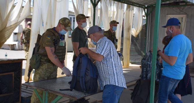 Поток людей через КПВВ «Станица Луганская» за неделю резко увеличился на 50%