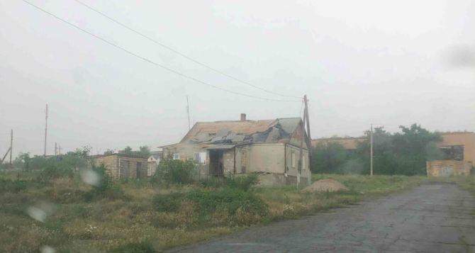 В Донецкой области пронесся ураган