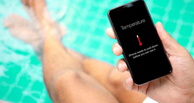Как предохраняться с помощью смартфона летом