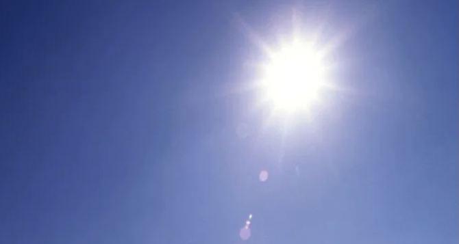 В Луганске столбики термометров поднимутся до отметки в 33 градуса