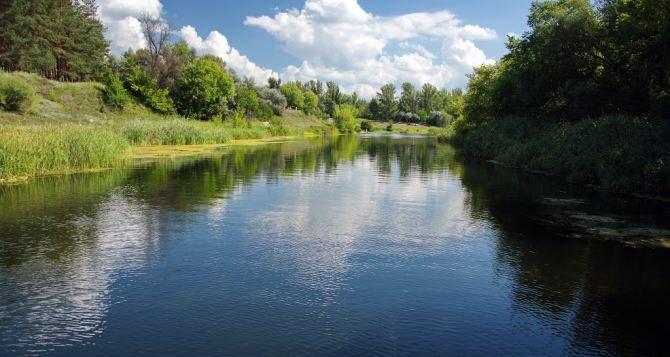 На Луганщине сняли запрет: В Айдаре опять можно купаться и ловить рыбу