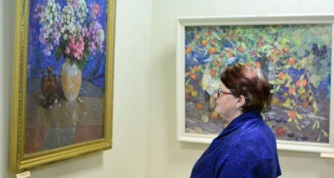 Завтра в Луганском художественном музее открывается летняя выставка