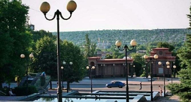 В Луганске днем жара до 36 градусов
