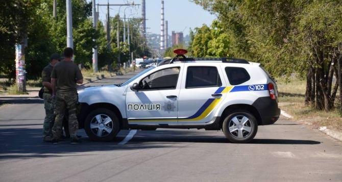 В Северодонецке подростки напали на полицейских. ФОТО
