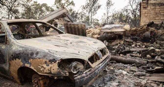 Жители сгоревшего Воронова боятся, что на их селе поставили крест. Но помощь все-таки пришла