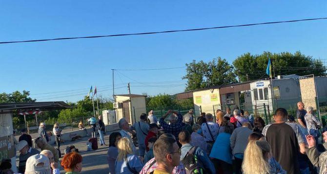 По итогам прошлой недели пассажиропоток на КПВВ «Станица Луганская» увеличился на 15%