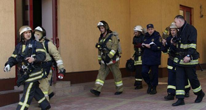 На пожаре в Луганске погиб мужчина