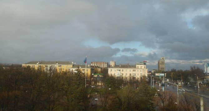 В Луганске сегодня вечером ожидается гроза