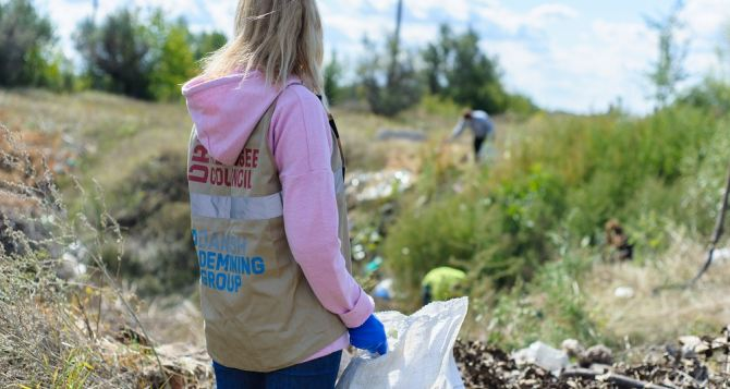 В Беловодске утилизируют мусор современными методами
