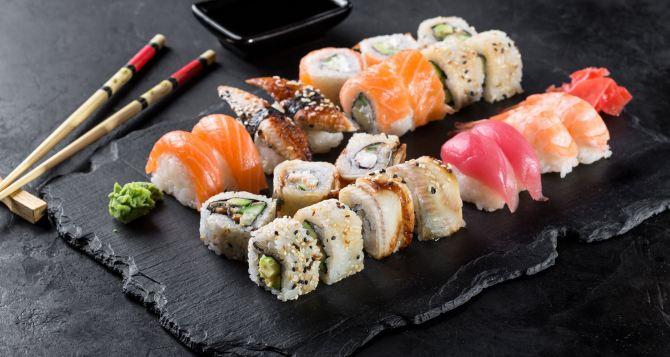 Где в Броварах суши с бесплатной доставкой?