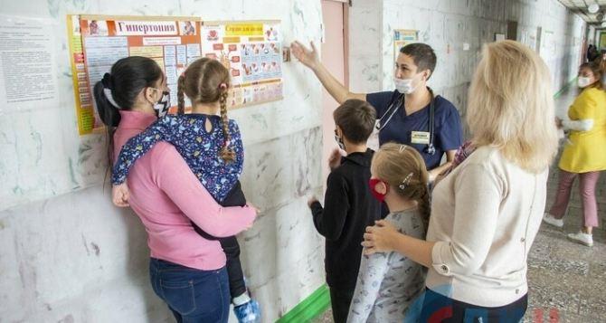 Дети из Луганска, из-за обстрелов, чаще стали болеть сердечно-сосудистыми заболеваниями и расстройствами нервной системы