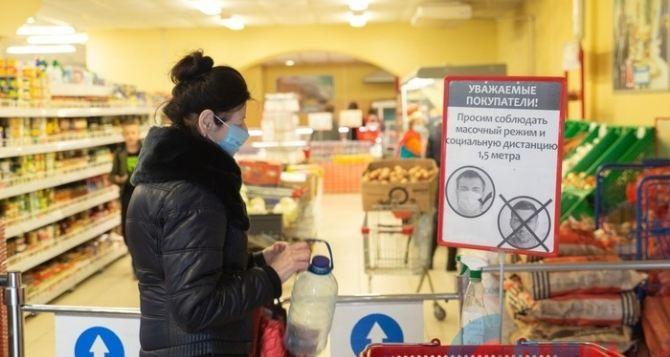 Как работают продуктовые магазины в Луганске без электричества