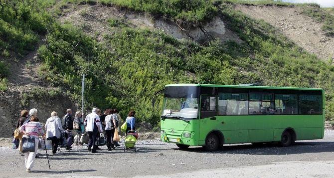 В Луганске отменили автобус с автовокзала до КПВВ «Станица Луганская»