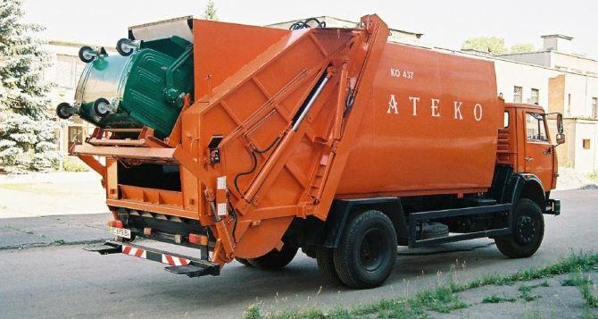 За неделю из Луганска вывезли более 9 тысяч кубометров бытового мусора