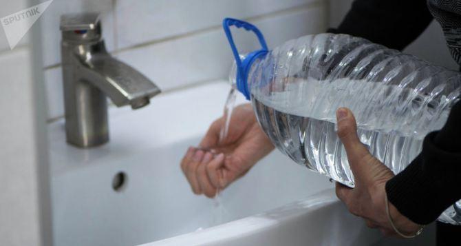 Отключение воды в Луганске 15октября.