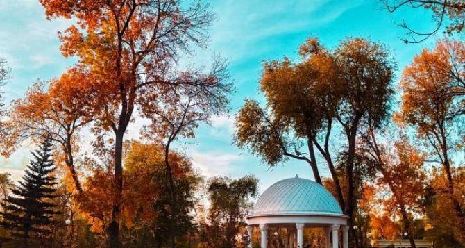В Луганске тепло, сухо, но ветрено