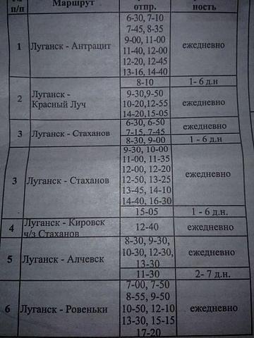 они, задумываясь, расписание автобусов из макеевки в алчевск Барашкова Елена