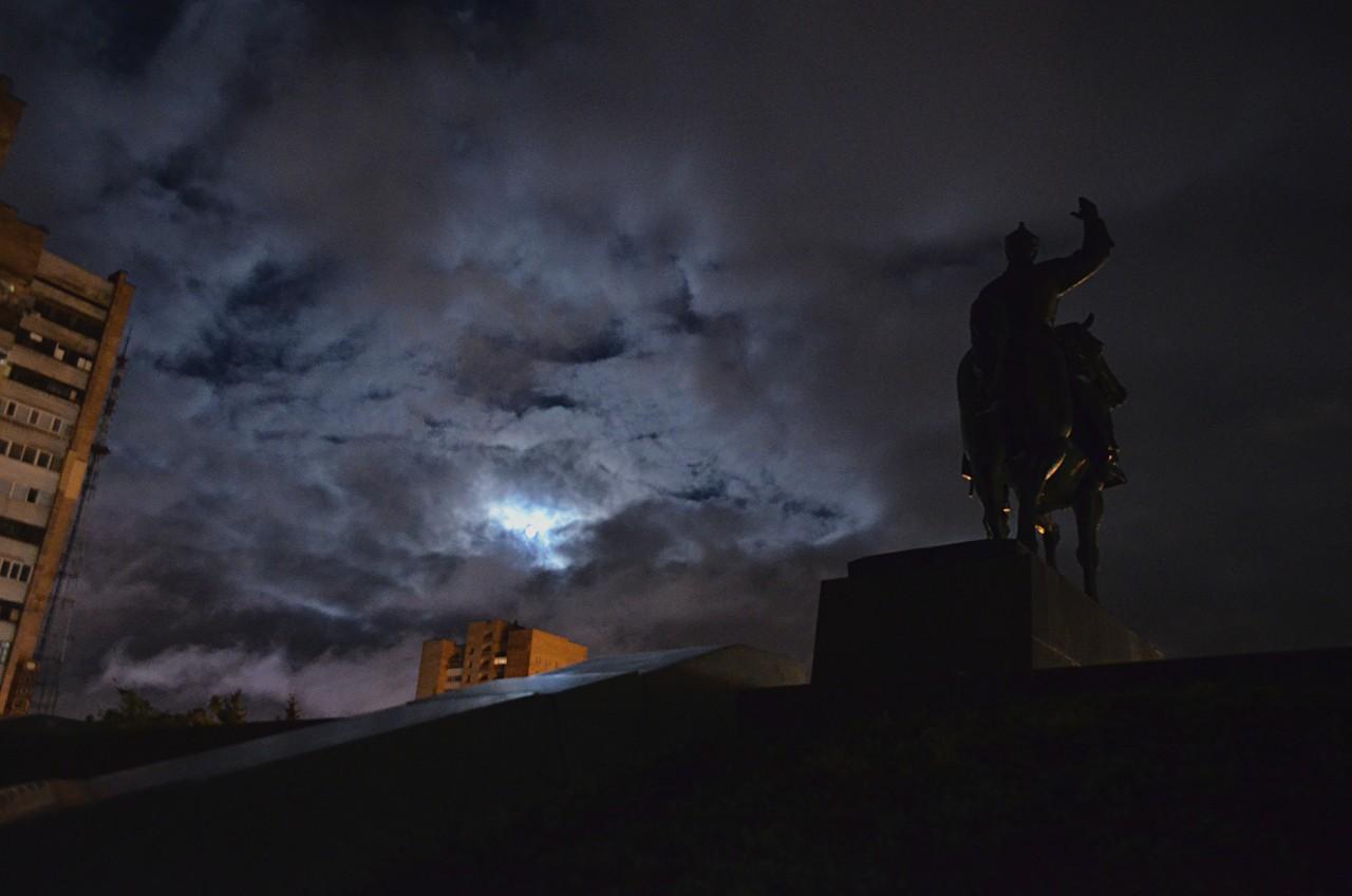 Осенний Луганск