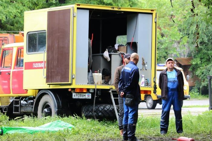 Луганскгаз взрыв ликвидация последствий