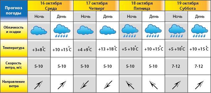 Погода в ростове на дону направление ветра