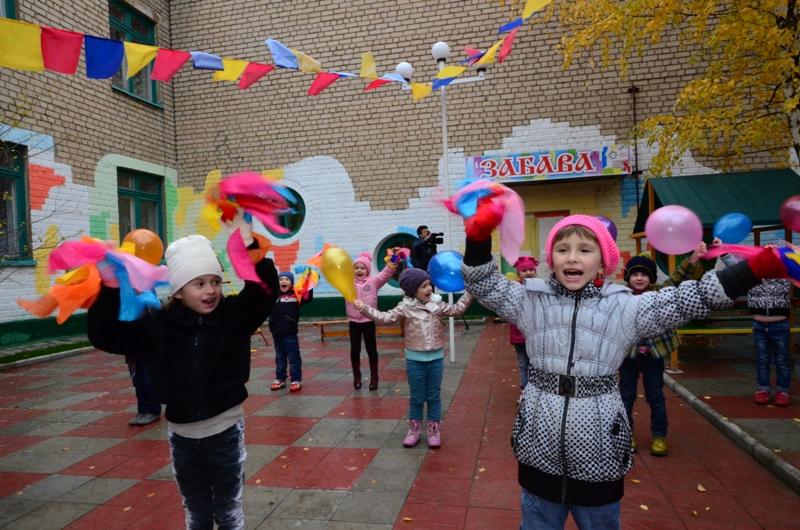 Благодаря Метинвесту в Краснодоне появилась новая детская игровая зона