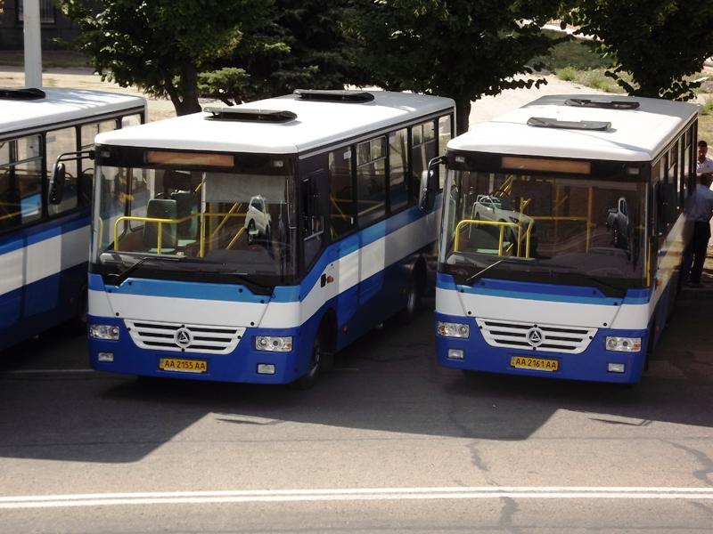 Участие в конкурсе приняло равно предприятие - Луганский городской автобусный парк, которое предоставило 40 новых...