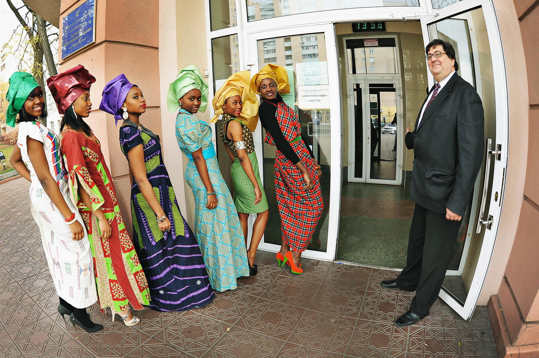 Студентки из африки 1 фотография