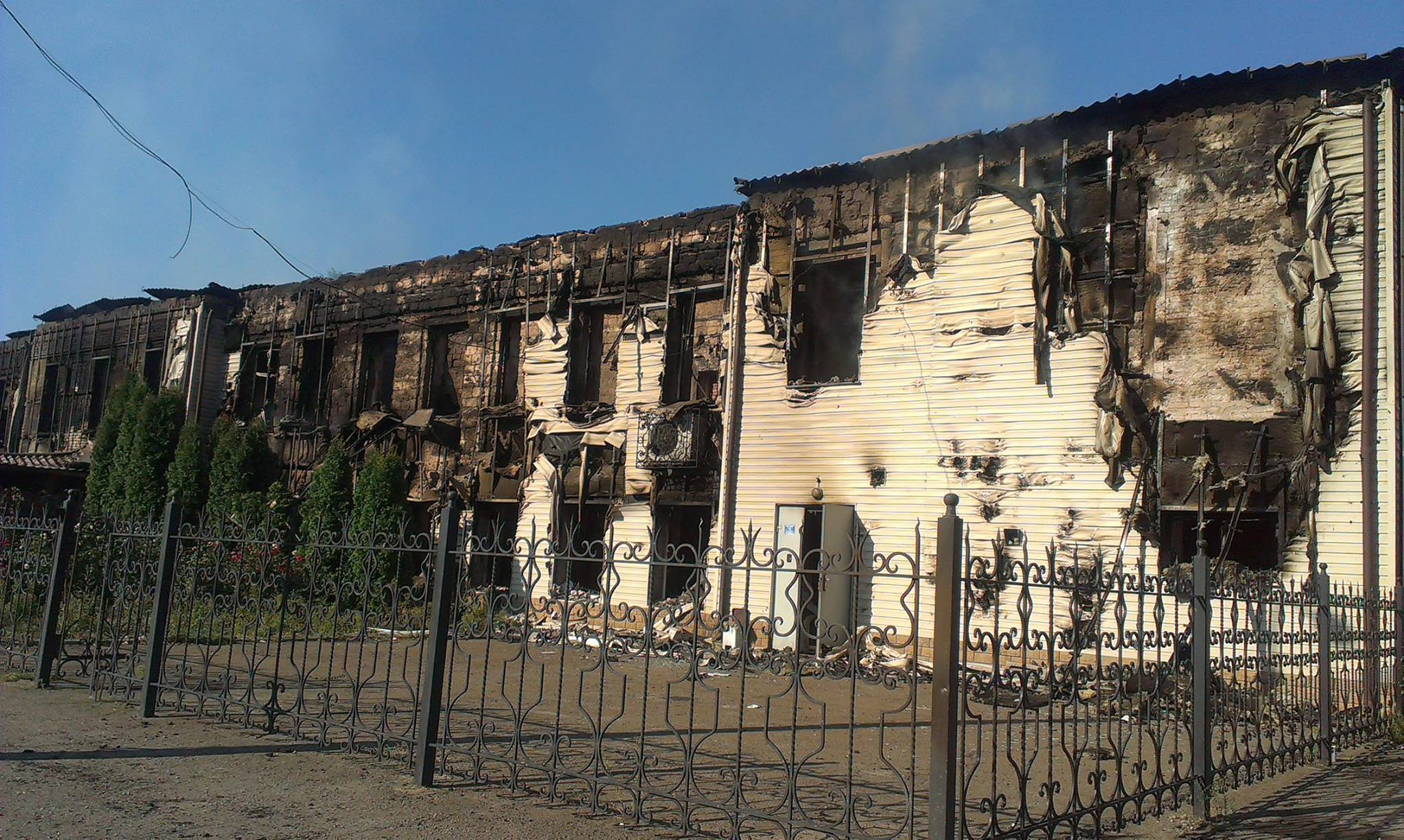 Фото луганска после обстрела по адресу 6