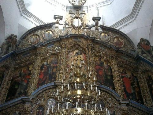 Интерьер внутри церкви