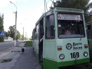По Луганску курсировал «индустриальный» трамвай